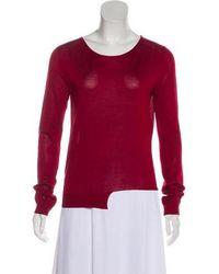 Giambattista Valli - Silk Knit Sweater - Lyst