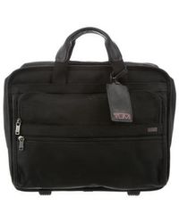 Tumi - Leather-trimmed Nylon Carry-on Black - Lyst