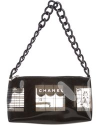 Chanel - Maison Cambon Vinyl Pochette Clear - Lyst