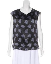 3.1 Phillip Lim - Silk Printed Blouse - Lyst