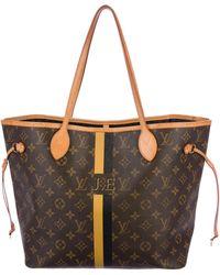Louis Vuitton - Neverfull Mm Mon Monogram Tote Brown - Lyst