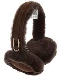 UGG - Shearling Suede-trimmed Earmuffs W/ Tags - Lyst