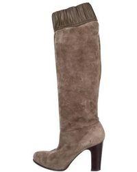 Vanessa Bruno - Suede Knee-high Boots - Lyst