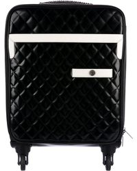 Chanel - 2016 Quilted Trolley Black - Lyst