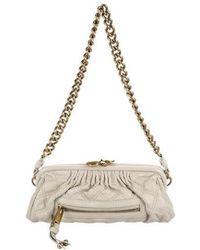 Marc Jacobs - Quilted Stam Shoulder Bag Grey - Lyst