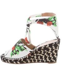 Proenza Schouler - Printed Espadrille Wedges W/ Tags Multicolor - Lyst