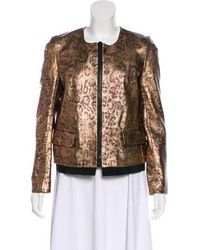 Golden Goose Deluxe Brand - Leather Jacket - Lyst