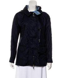 Moncler - Hooded Short Coat - Lyst