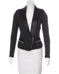 IRO - Ashby Leather-accented Jacket - Lyst