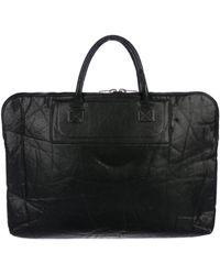 Rick Owens - Grained Leather Tote Black - Lyst