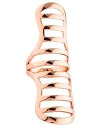 Arme De L'Amour - Doll Stripe Ring Rose - Lyst