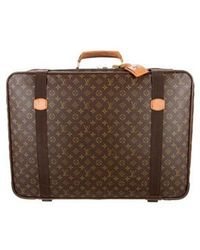 c63a67b0f40d Lyst - Louis Vuitton Monogram Satellite 70 Brown in Natural for Men