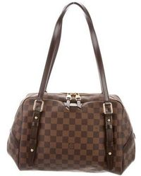Louis Vuitton - Damier Ebene Rivington Gm Brown - Lyst