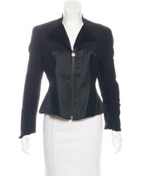 Christian Lacroix - Collared Zip-up Jacket - Lyst