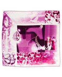 Cartier - Printed Silk Scarf - Lyst