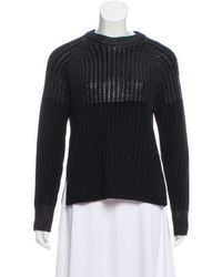 Lyst - Joseph Ribbed-knit Turtleneck Sweater in White 6d1946eb6