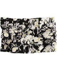 Robert Rodriguez - Floral Embroidered Waist Belt Black - Lyst