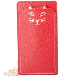 Charlotte Olympia - Feline Iphone 6 Case Red - Lyst