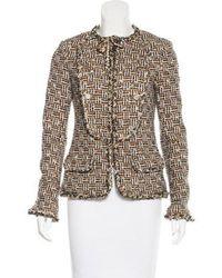 Chanel - Paris-dallas Fantasy Tweed Jacket Tan - Lyst