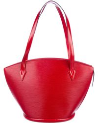 Louis Vuitton - Epi St. Jacques Shopping Gm Rouge - Lyst