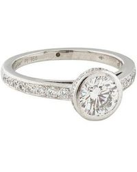 Cartier - 1.03ct Diamond Engagement Ring - Lyst