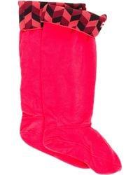 HUNTER - Fleece Boot Socks W/ Tags - Lyst