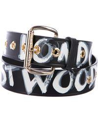 Vivienne Westwood - Camden Leather Belt Black - Lyst