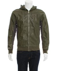 Marc Jacobs - Hooded Leather Jacket - Lyst