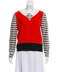 Sonia by Sonia Rykiel - Sonia By Rykiel Cashmere-blend Knit Sweater Multicolor - Lyst