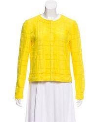 Thakoon - Textured Collarless Jacket - Lyst