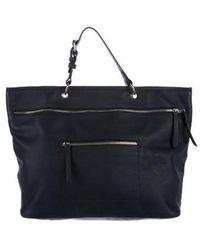 10 Crosby Derek Lam - Leather Handle Bag Navy - Lyst