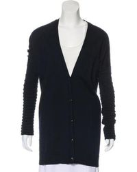 Maiyet - Cashmere Knit Cardigan Navy - Lyst