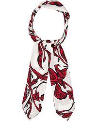 Ellery - Printed Silk Scarf - Lyst