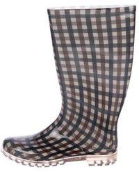 Aquascutum - Rubber Rain Boots Beige - Lyst