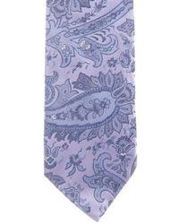 Michael Kors - Paisley Jacquard Silk Tie - Lyst