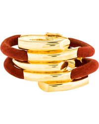 Maiyet - Empire 5 Wrap Bracelet Gold - Lyst