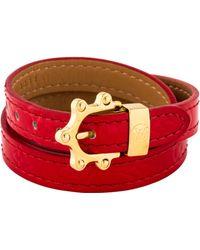 Louis Vuitton - Vernis Triple Tour Bracelet Gold - Lyst