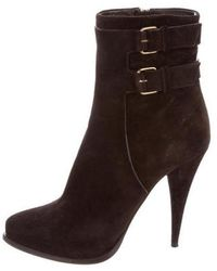 Givenchy - Platform Ankle Boots - Lyst