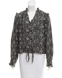 Banjanan - Printed Button-up Top W/ Tags - Lyst