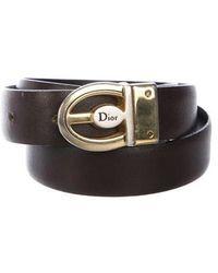 Dior - Leather Waist Belt - Lyst