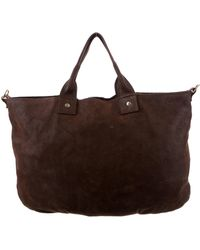 Clare V. - Leather Satchel Brown - Lyst