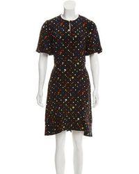 Giulietta - Silk Printed Dress - Lyst