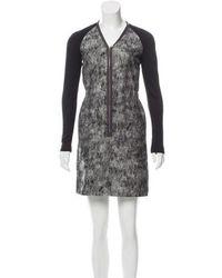 Behnaz Sarafpour - Wool Mini Dress W/ Tags - Lyst