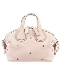 Givenchy - Micro Nightingale Satchel Pink - Lyst