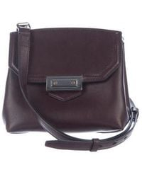 Alexander Wang - Prisma Marion Flat-bottom Crossbody Bag Plum - Lyst