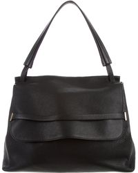 The Row - Top Handle 14 Black - Lyst