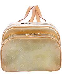 Louis Vuitton - Vernis Murray Backpack Beige - Lyst