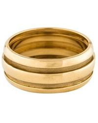 Tiffany & Co. - 18k Altas Groove Ring Yellow - Lyst