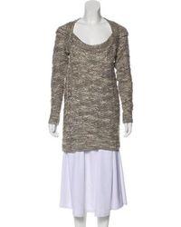 VPL - Knit Wool-blend Sweater Grey - Lyst