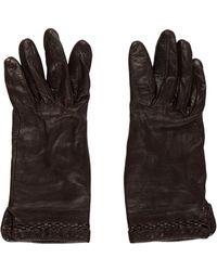 CALVIN KLEIN 205W39NYC - Leather Gloves - Lyst
